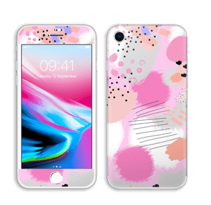 Abstract pink Skin IPhone 8