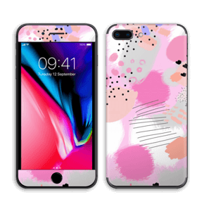 Abstract pink Skin IPhone 8 Plus