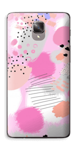 Abstract pink Skin OnePlus 3