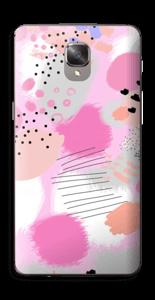 Abstraktes Rosa Skin OnePlus 3