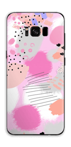 Abstract pink Skin Galaxy S8 Plus