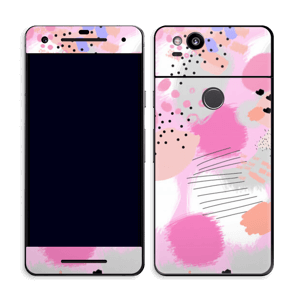 Abstraktes Rosa Skin Pixel 2