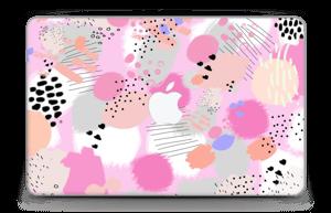 "Abstract pink Skin MacBook Air 11"""