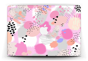 Abstract pink Skin MacBook Air 13""