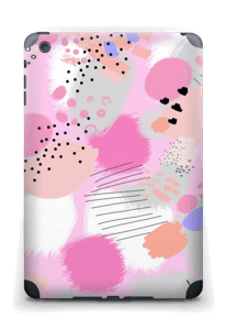 Abstraktes Rosa Skin IPad mini 2 back