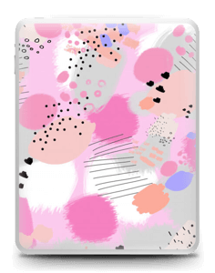 Abstract pink Skin IPad 1