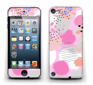 Abstract pink Skin IPod Touch 5th Gen