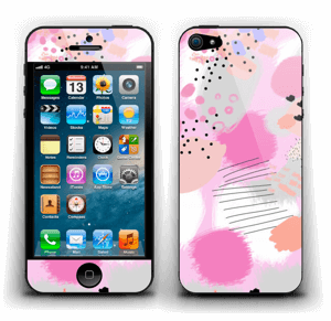 Abstract pink Skin IPhone 5