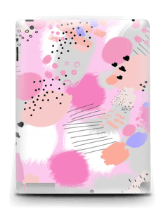 Abstract pink Skin IPad 4/3/2