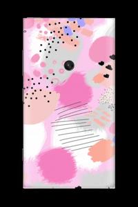 Abstraktes Rosa Skin Nokia Lumia 920