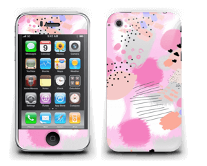 Abstract pink Skin IPhone 3G/3GS