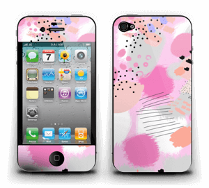 Abstraktes Rosa Skin IPhone 4/4s