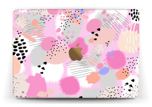 Abstract pink Skin MacBook 12""