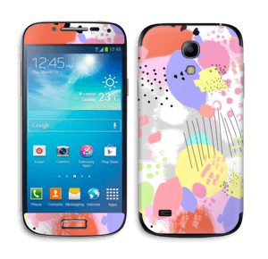 Abstract colours Skin Galaxy S4 Mini