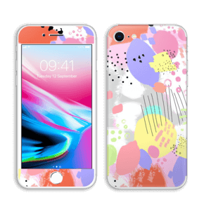 Abstract color Skin IPhone 8
