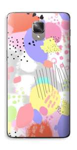 Abstract color Skin OnePlus 3