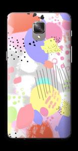 Abstrakte Farben Skin OnePlus 3