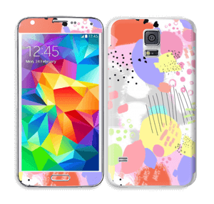 Abstract color Skin Galaxy S5
