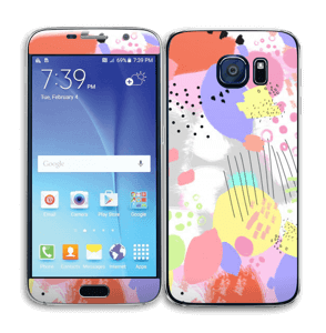 Abstract colours Skin Galaxy S6