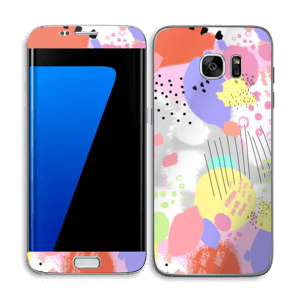 Abstract colours Skin Galaxy S7 Edge