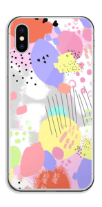 Abstrakte Farben Skin IPhone X