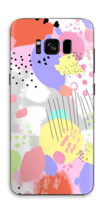 Abstract colours Skin Galaxy S8
