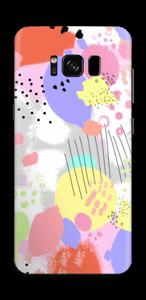 Abstrakte Farben Skin Galaxy S8