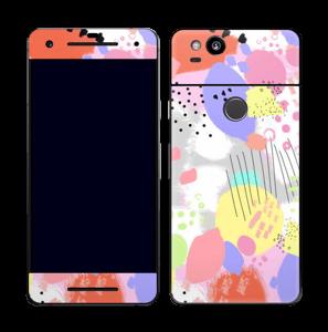 Abstrakte Farben Skin Pixel 2