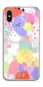 Abstract colours Skin IPhone XS