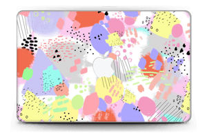"""Abstract colours Skin MacBook Air 11"""""""