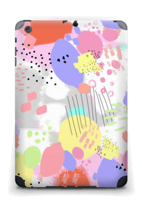 Abstrakte Farben Skin IPad mini 2 back