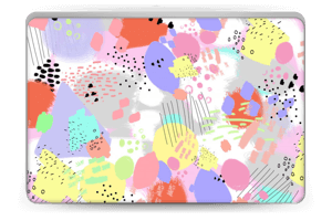 Abstract colours Skin Laptop 15.6