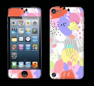 Abstrakte Farben Skin IPod Touch 5th Gen