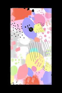 Abstrakte Farben Skin Nokia Lumia 920