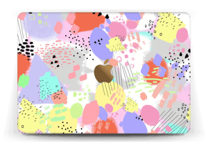 """Abstract colours Skin MacBook 12"""""""