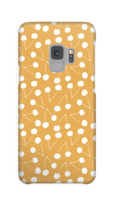Cherry yellow case Galaxy S9