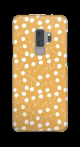 Cherry yellow case Galaxy S9 Plus