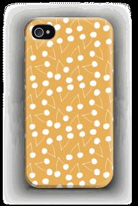 Jaune cerises Coque  IPhone 4/4s