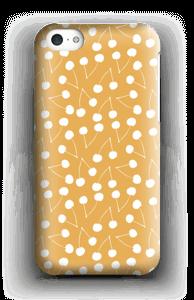 Cherry yellow case IPhone 5c