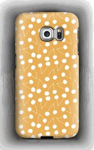 Cherry yellow case Galaxy S6 Edge