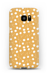 Cherry yellow case Galaxy S7 Edge