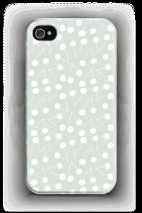 Körsbärs-mint skal IPhone 4/4s