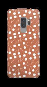 Cherry-rust case Galaxy S9 Plus