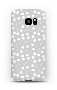 Cherry Grey case Galaxy S7 Edge