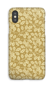 Feuilles de chêne Coque  IPhone XS