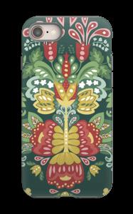 Jardin & fleurs mystiques Coque  IPhone 8 tough
