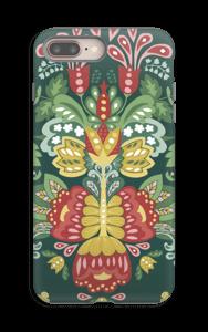 Jardin & fleurs mystiques Coque  IPhone 8 Plus tough