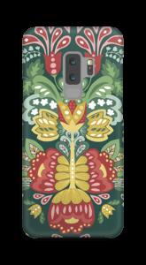 Blumige Kunst Handyhülle Galaxy S9 Plus