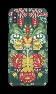 Jardin & fleurs mystiques Coque  IPhone XS Max