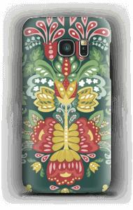 Blumige Kunst Handyhülle Galaxy S7